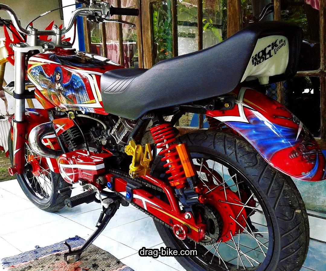 Modifikasi Airbrush Motor Rx King Keren