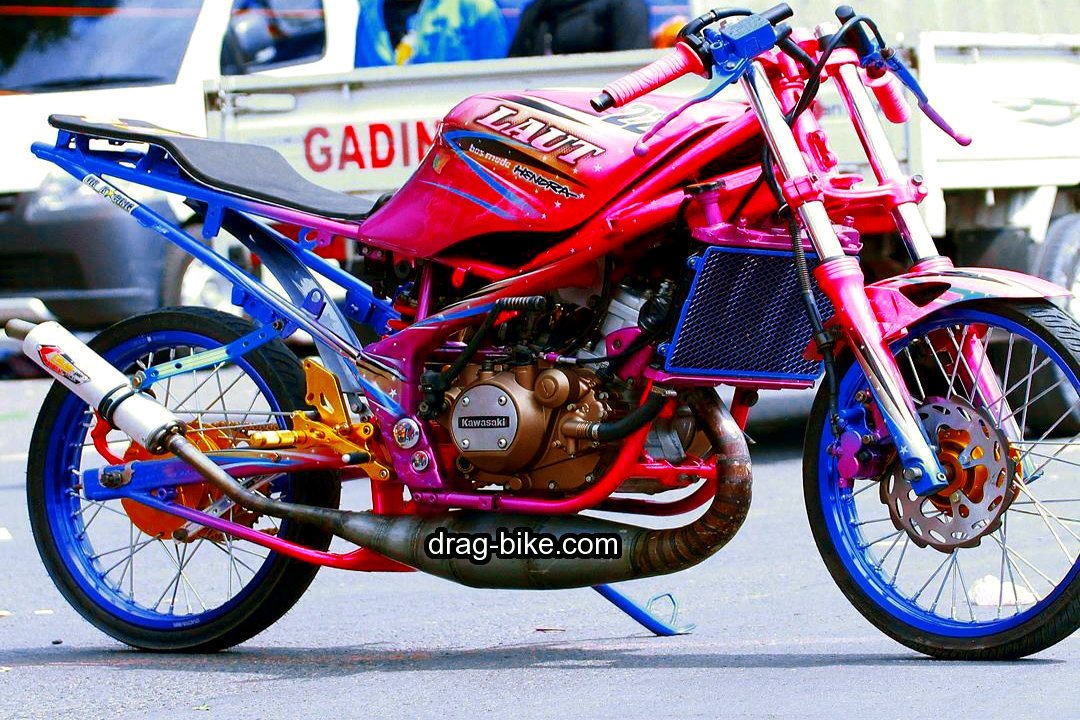 Modifikasi Drag Bike Ninja Rr Modif Racing