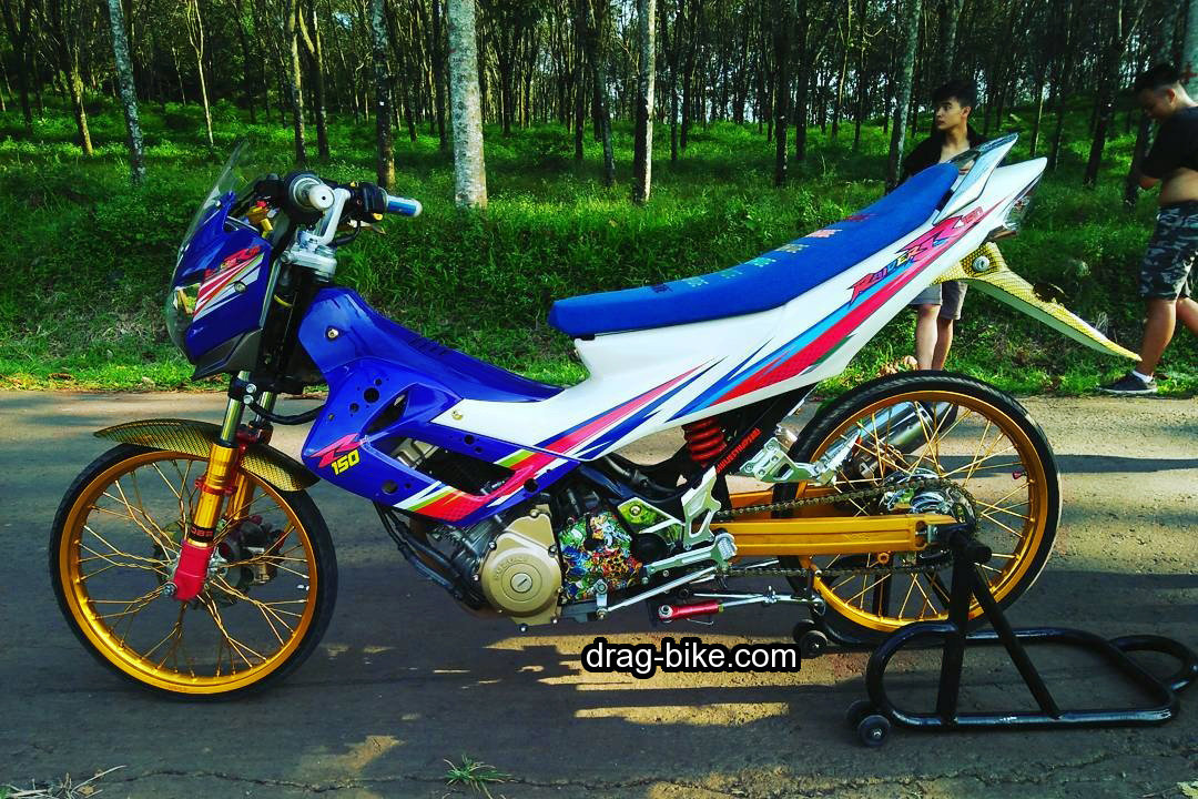 Modifikasi Fu Racing Suzuki Raider 150 Thailook