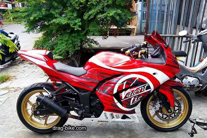 Modifikasi Kawasaki Ninja 250 Fi Modif Motogp