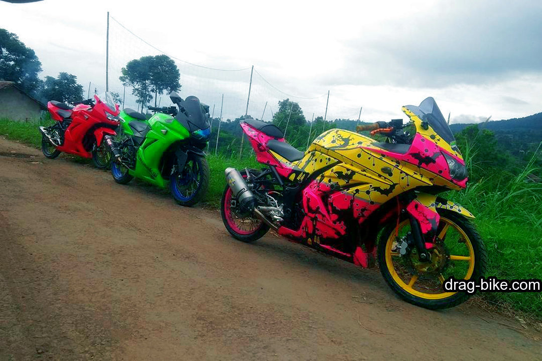 Modifikasi Kawasaki Ninja 250 Fi Simple