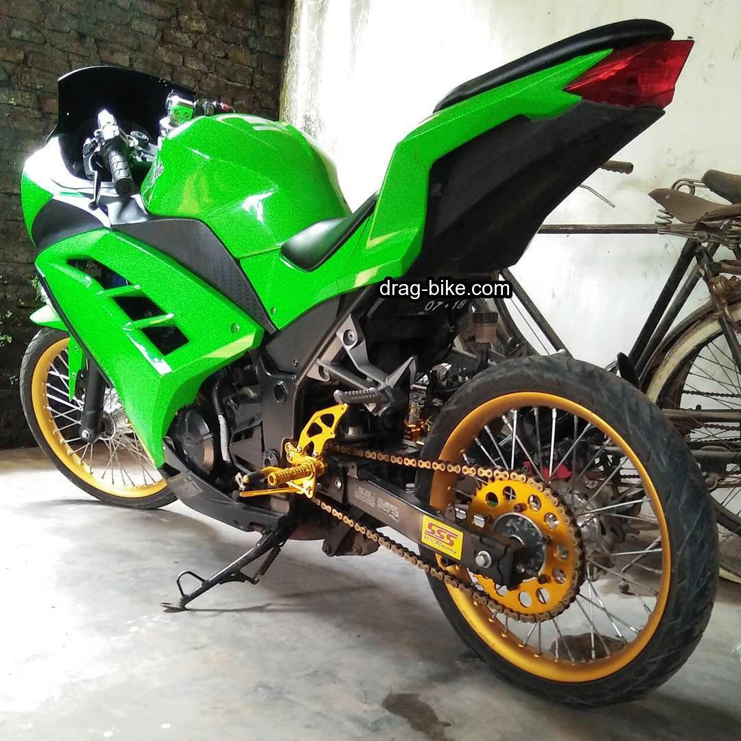 Modifikasi Kawasaki Ninja 250 Velg Aluminium Jari Jari