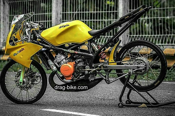 Modifikasi Motor Drag Ninja Rr