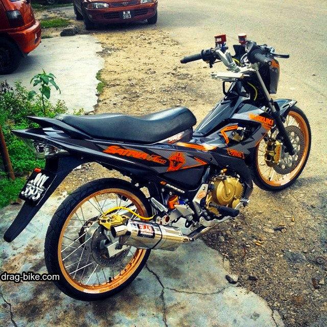 Modifikasi Motor Fu 150 Terbaru