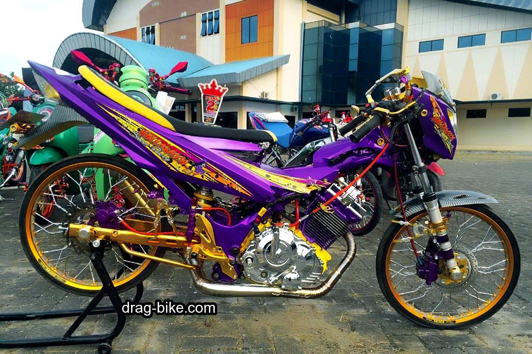 Modifikasi Motor Fu Modif Simple