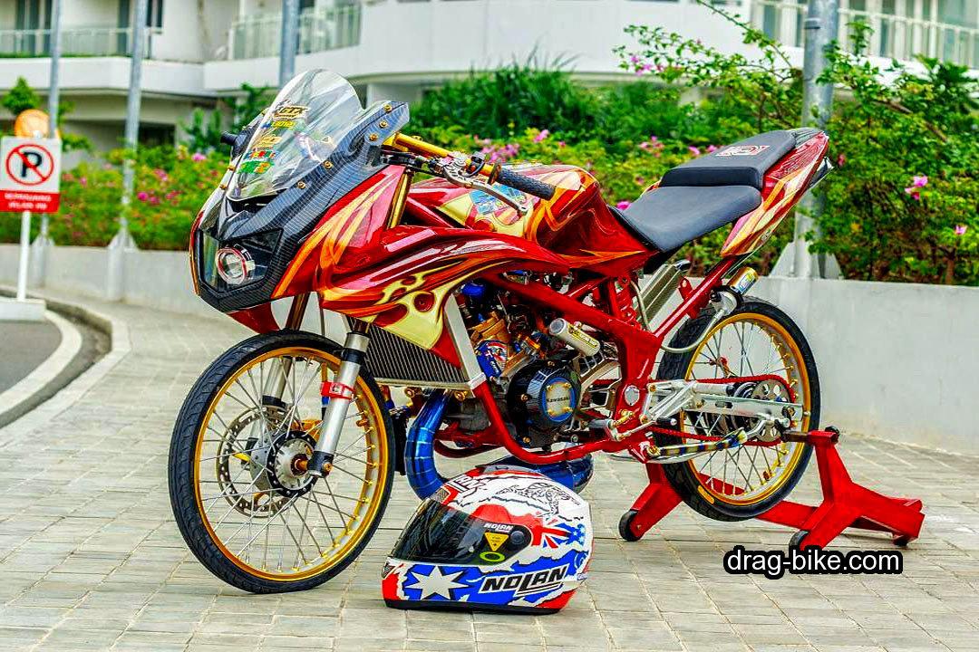 Gambar Motor Ninja Drag Racing