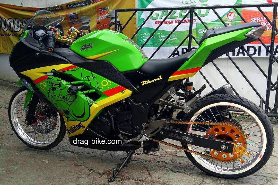 Modifikasi Motor Ninja 250 Fi Jari Jari