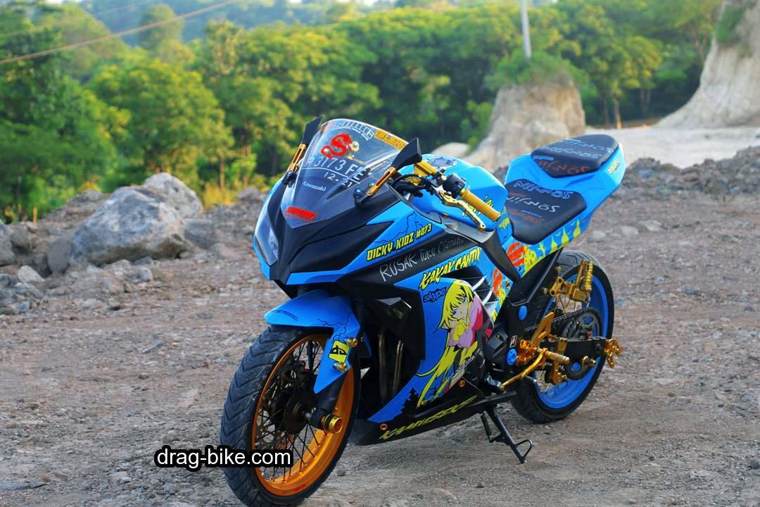 Modifikasi Motor Ninja 4 Tak 250 Kontes