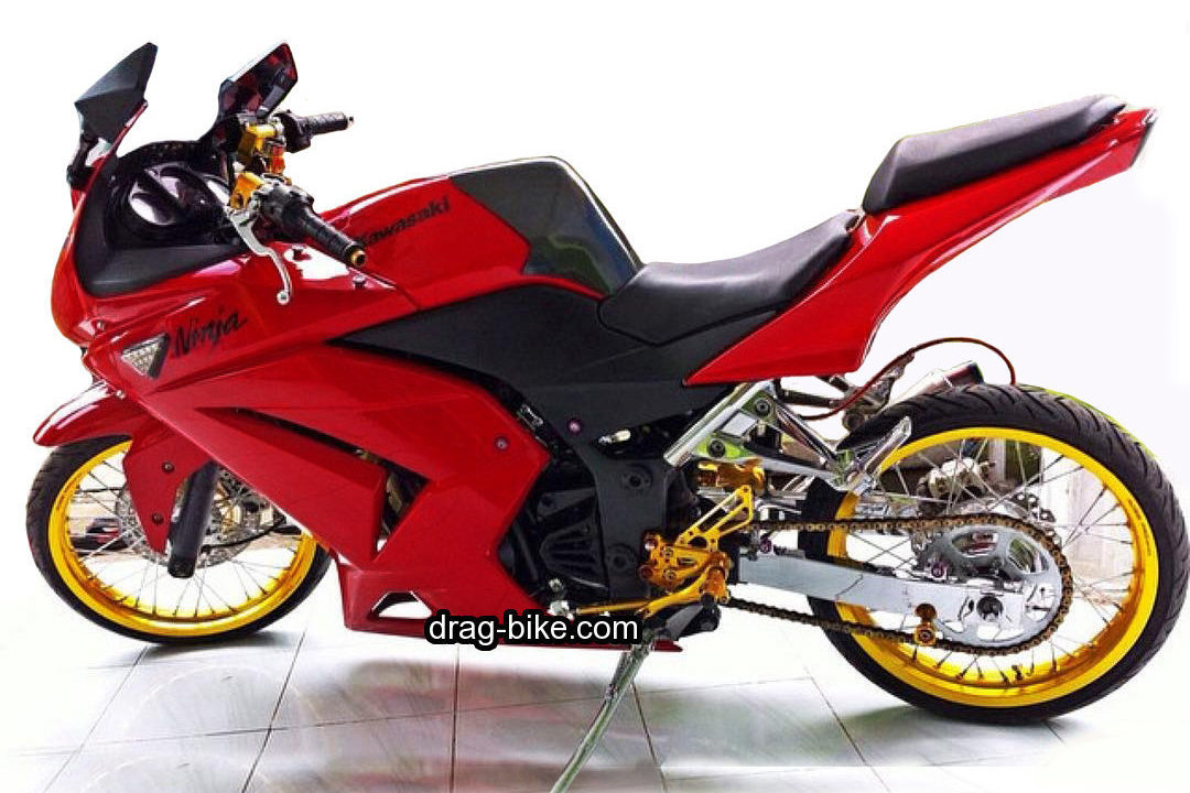 Modifikasi Motor Ninja 4 Tak 250 cc Street Racing Modif Simple