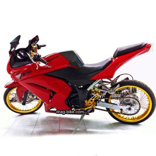 50 Foto Gambar Modifikasi Ninja R Drag Bike Racing Drag Bike Com