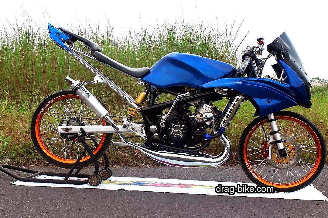 Modifikasi Striping Kawasaki Ninja 250 RR Mono livery