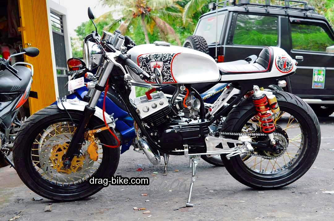 Modifikasi Motor Rx King Cafe Racer Indonesia