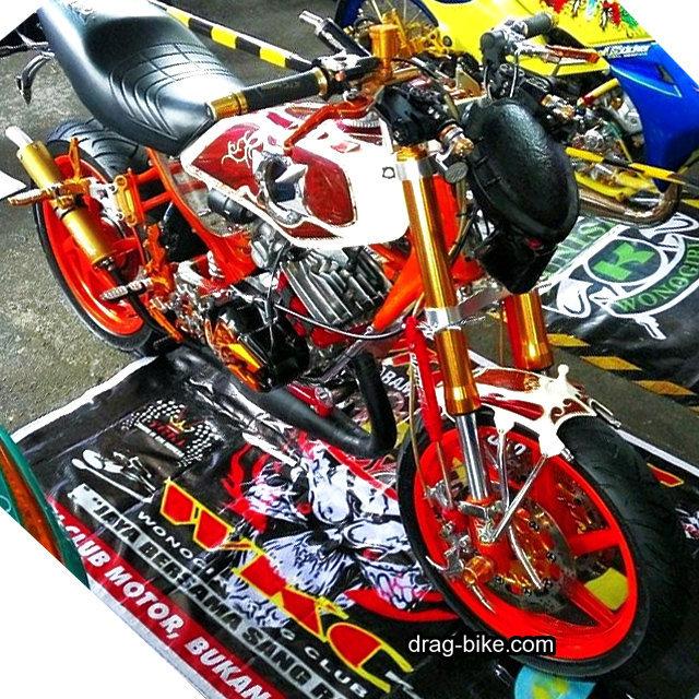 Modifikasi Motor Rx King Full Modif Keren Terbaik