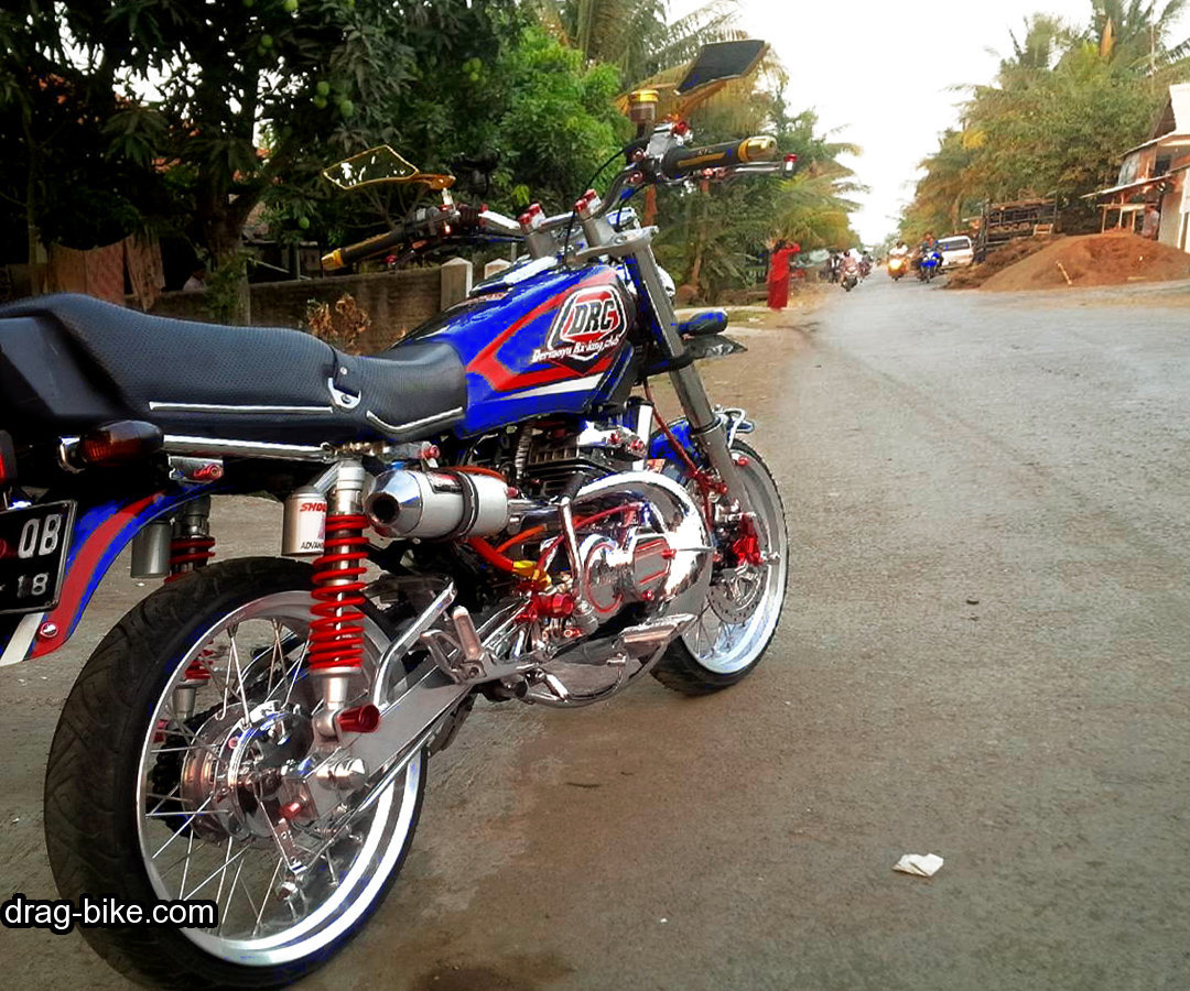 Foto gambar modifikasi rx king modif keren air brush for Chaise yamaha