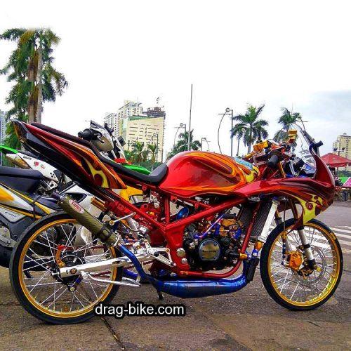 Modifikasi Ninja 150 RR Modif Street Racing Kontes Terbaik
