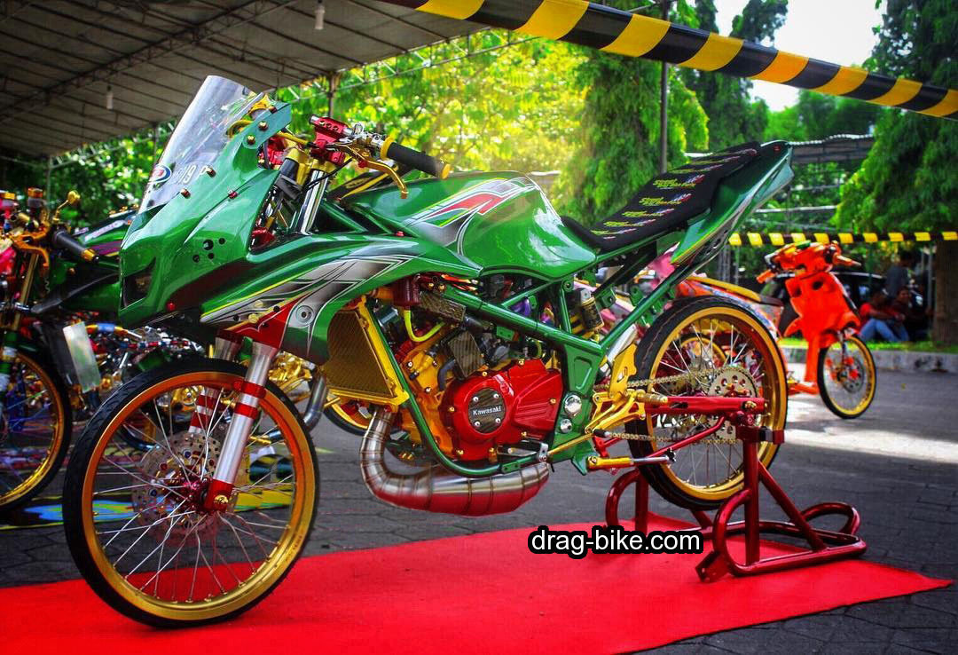 Modifikasi Ninja 150 RR Modif Street Racing Kontes