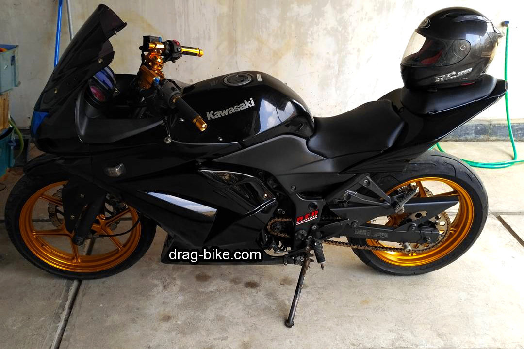 Modifikasi Ninja 250 Fi 4 Tak Simple Modif