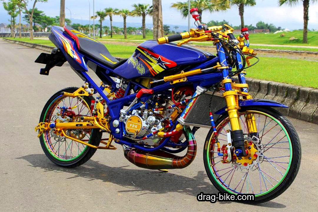Modifikasi Ninja RR Full Modif