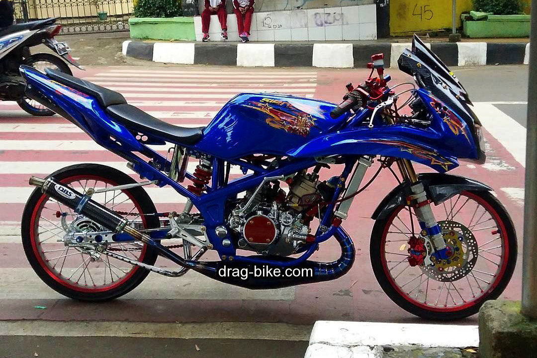Modifikasi Ninja RR Modif Drag