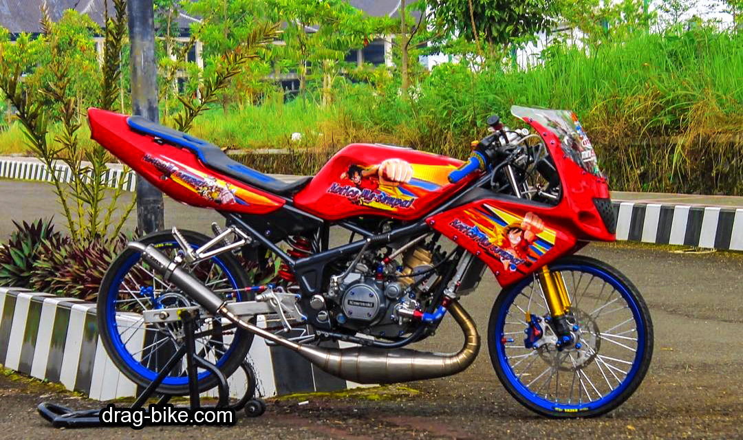Modifikasi Ninja RR Old Modif
