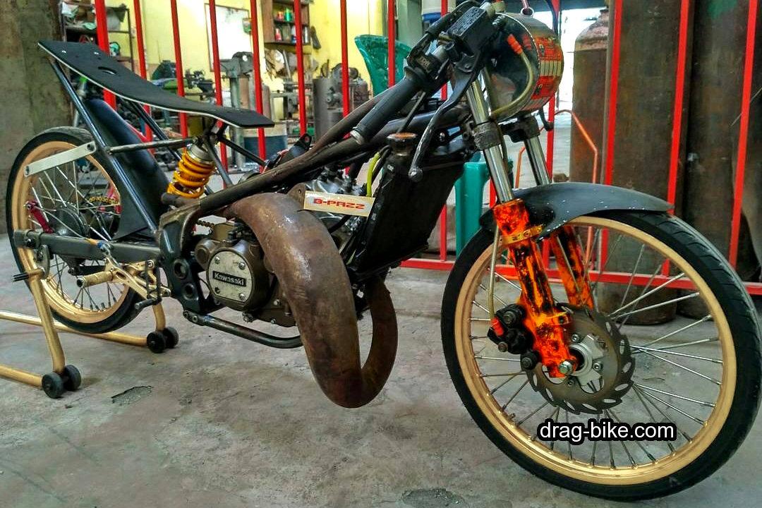 Modifikasi Ninja Rr Drag Motor Racing