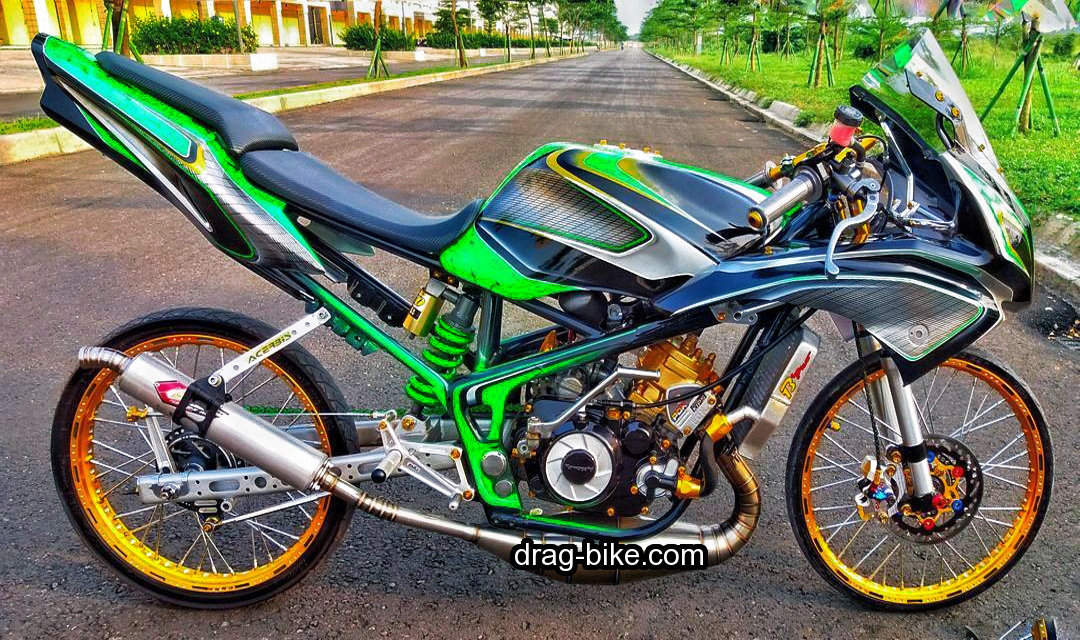 Modifikasi Ninja Rr Drag Racing