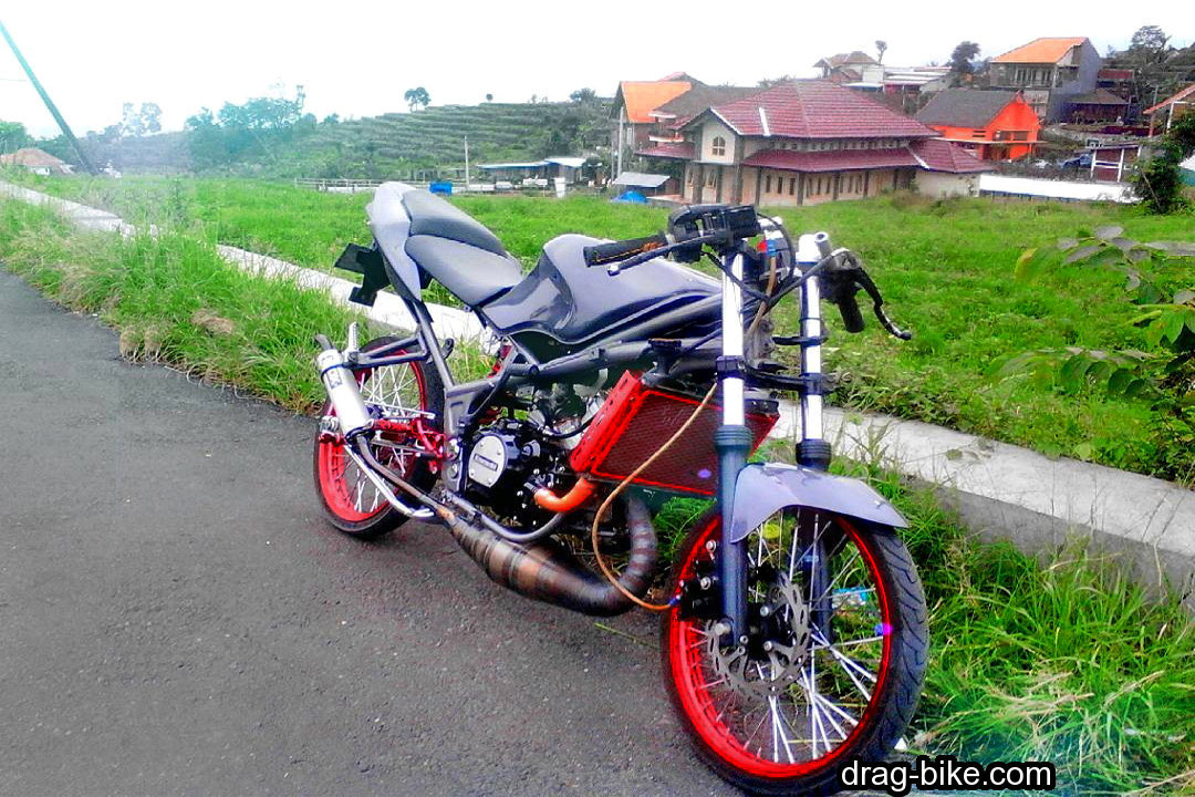 Modifikasi Ninja Rr Street Racing