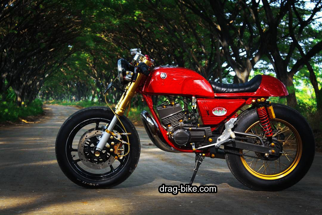 Modifikasi Rx King Cafe Racer Custom