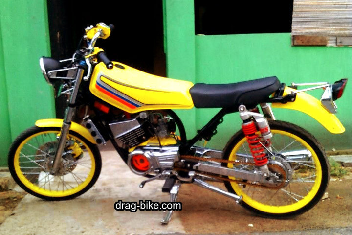 Modifikasi Rx King Cobra Drag