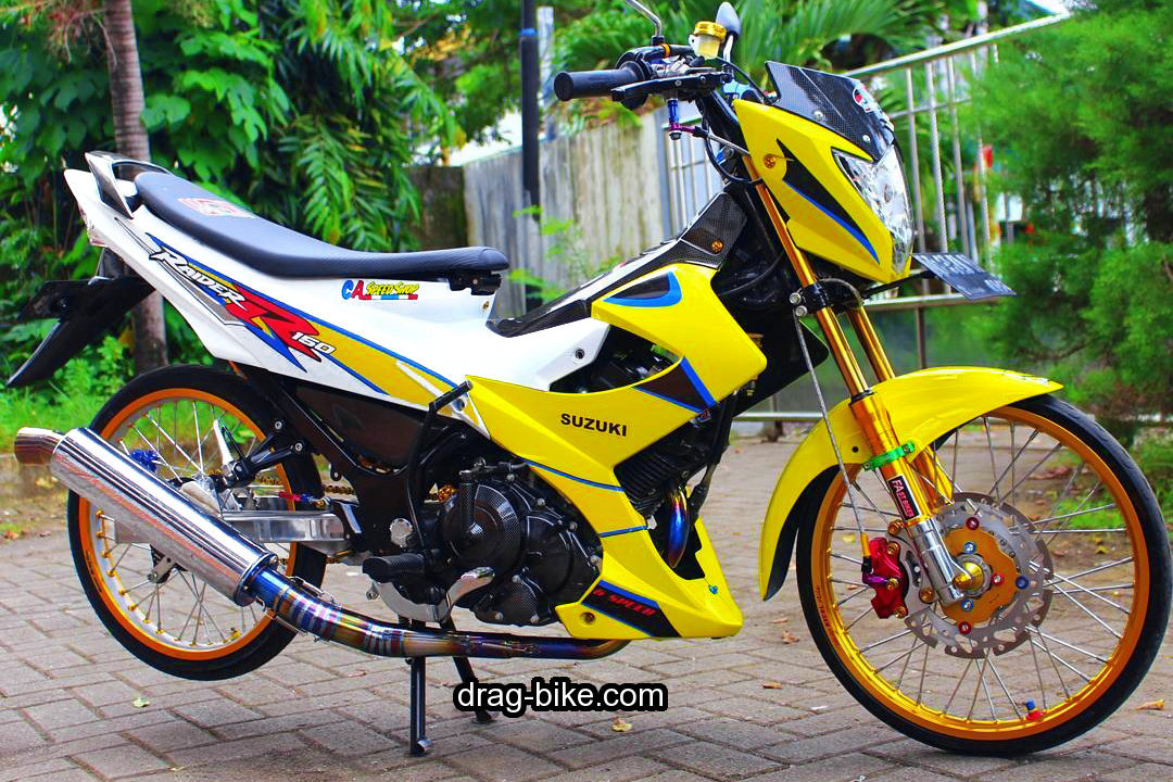 Modifikasi Suzuki Raider Thailand