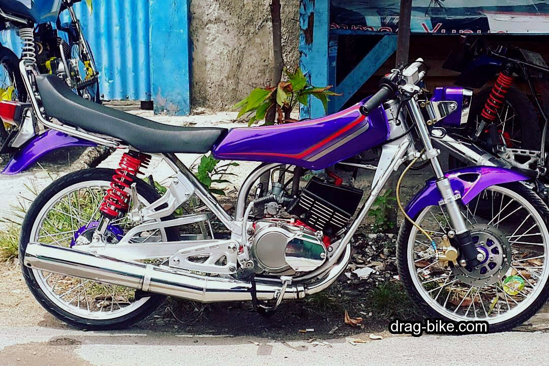 Modifikasi Yamaha Rx King Drag Race