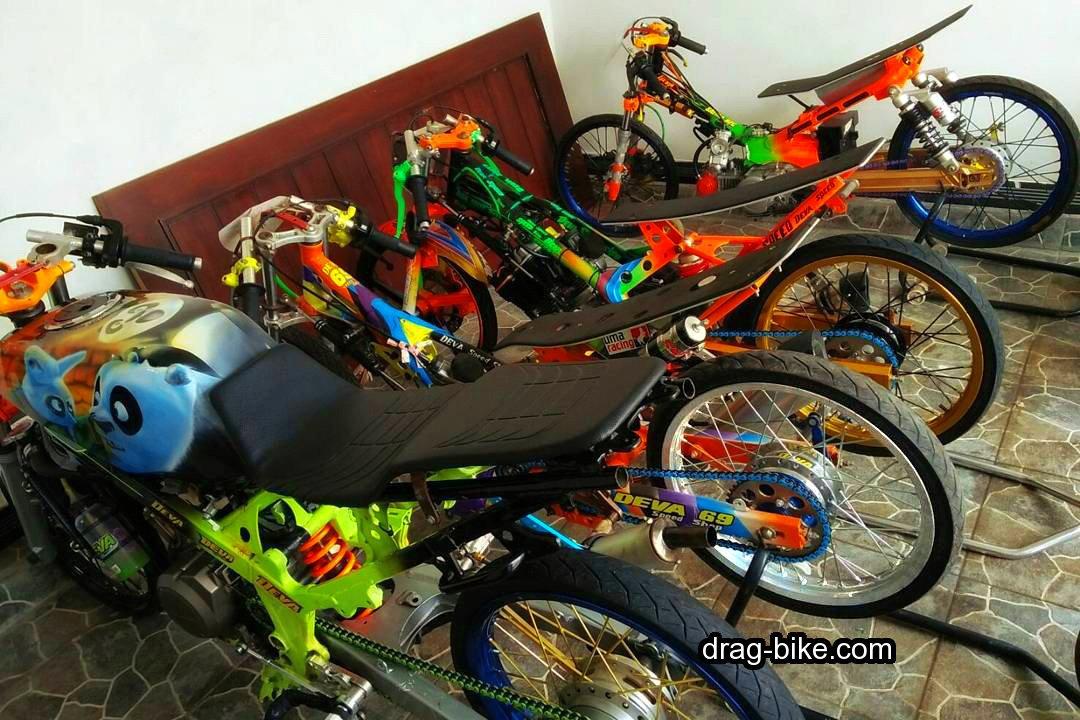 Motor Satria Drag Bike