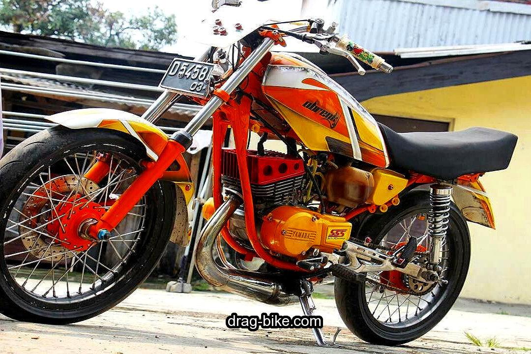 Motor Yamaha Rx King Knalpot Standar Racing