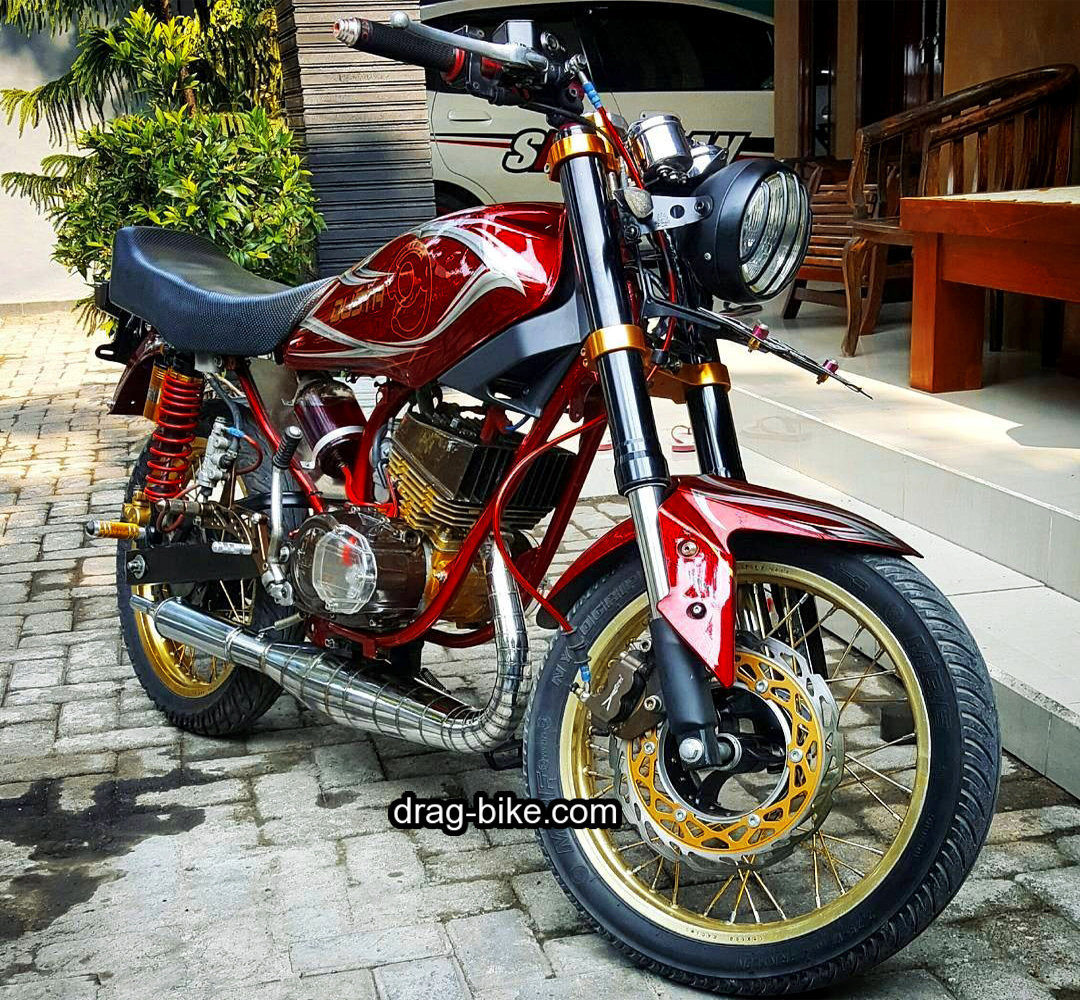 Motor Yamaha Rx King Modif Custom Extreeme