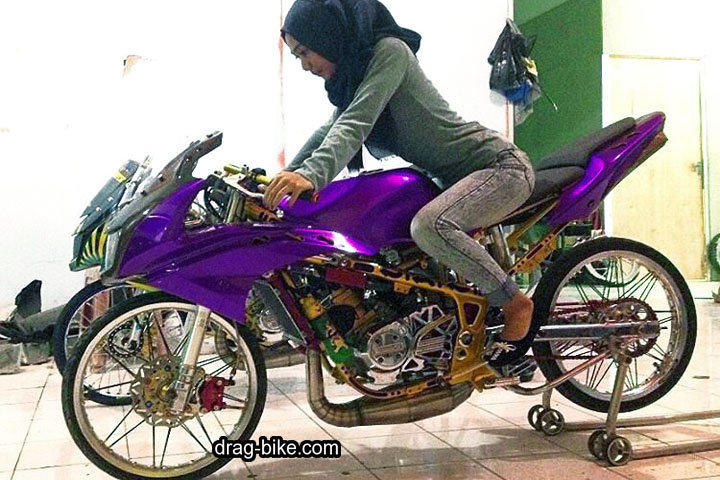 Ninja RR Full Modif Street Racing