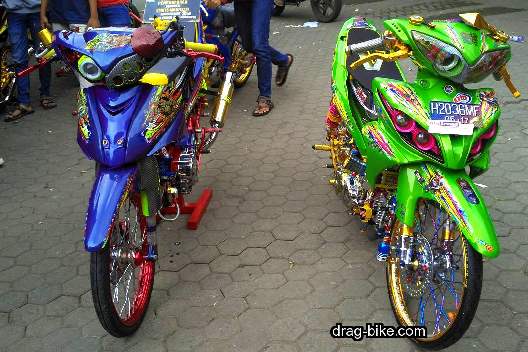 Foto Modifikasi Jupiter Z Modif