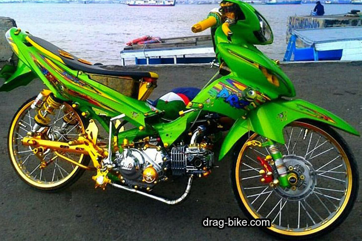 Jupiter Z1 Modif Racing Look
