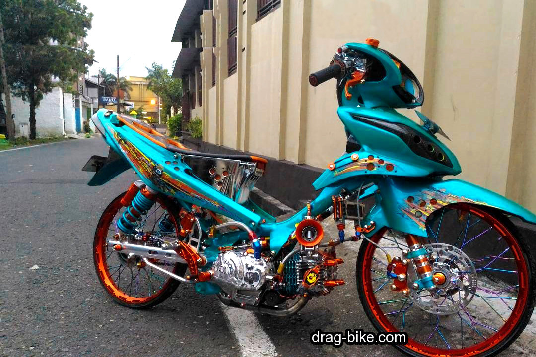 Modifikasi JUPITER Z1 Kontes Racing Look