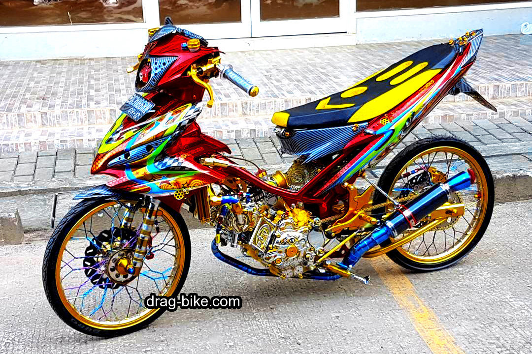 Gambar Motor Drag Bike Jupiter Z