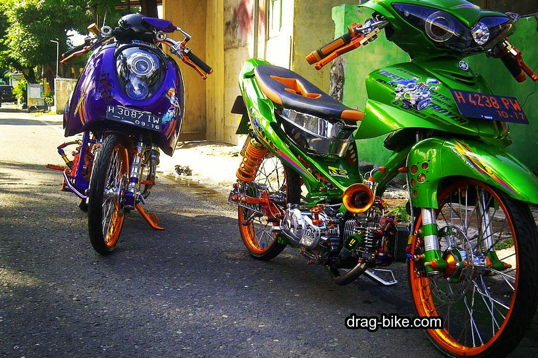 Modifikasi Jupiter Z 2008 Jari Jari