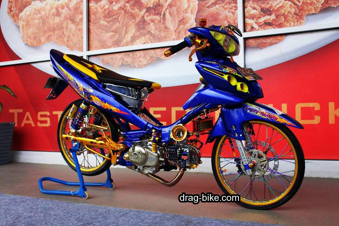 Modifikasi Jupiter Z 2010 Racing