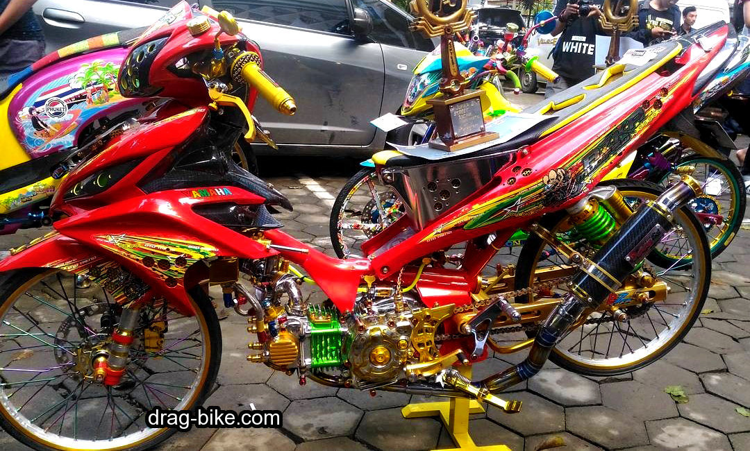 Modifikasi Jupiter Z Body Jupiter MX
