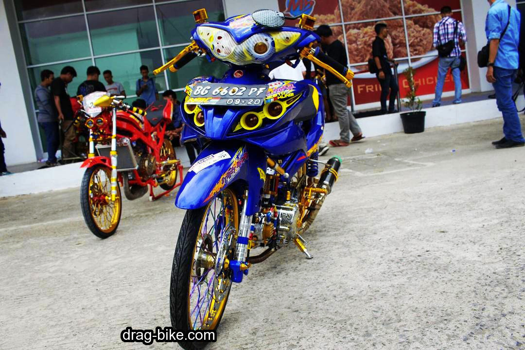 Modifikasi Jupiter Z Racing Look