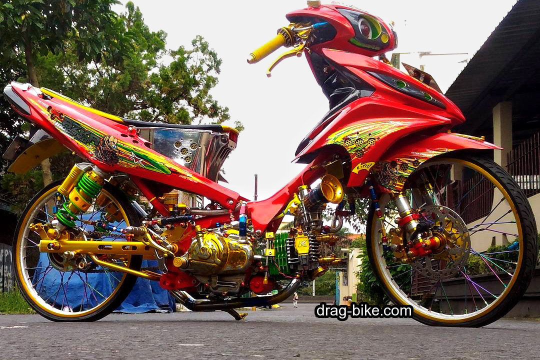 Modifikasi Jupiter Z Street Racing