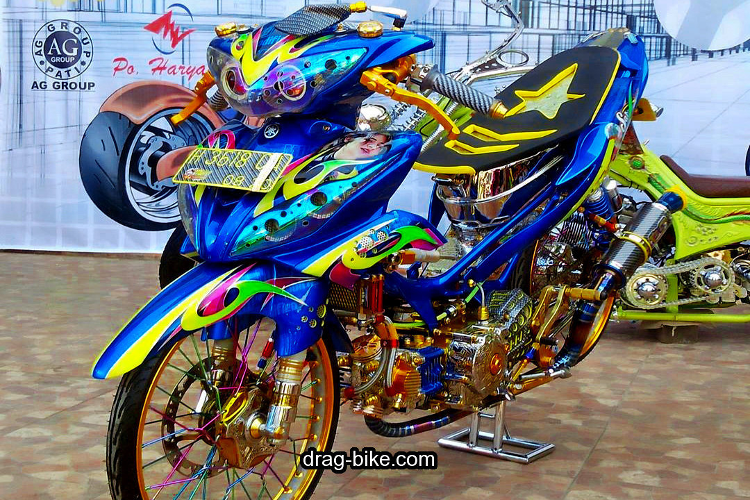 Modifikasi Jupiter Z1 Airbrush