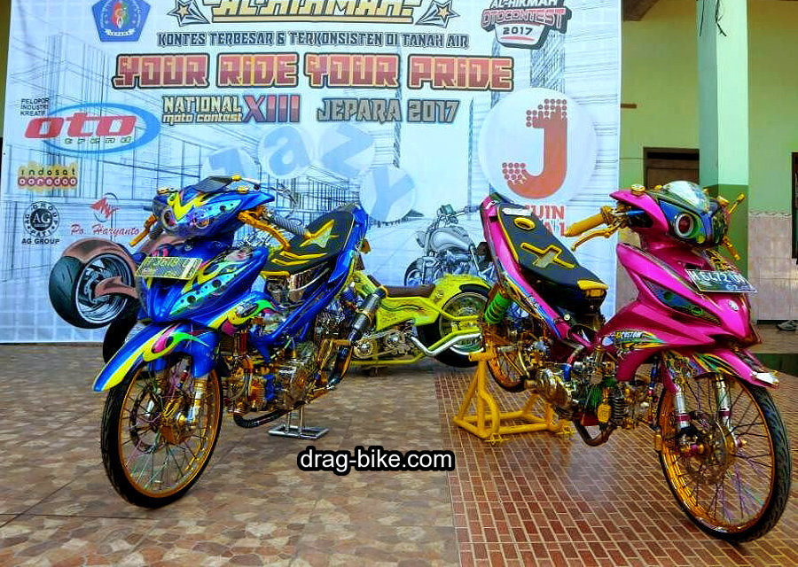 Modifikasi Jupiter Z1 Kontes