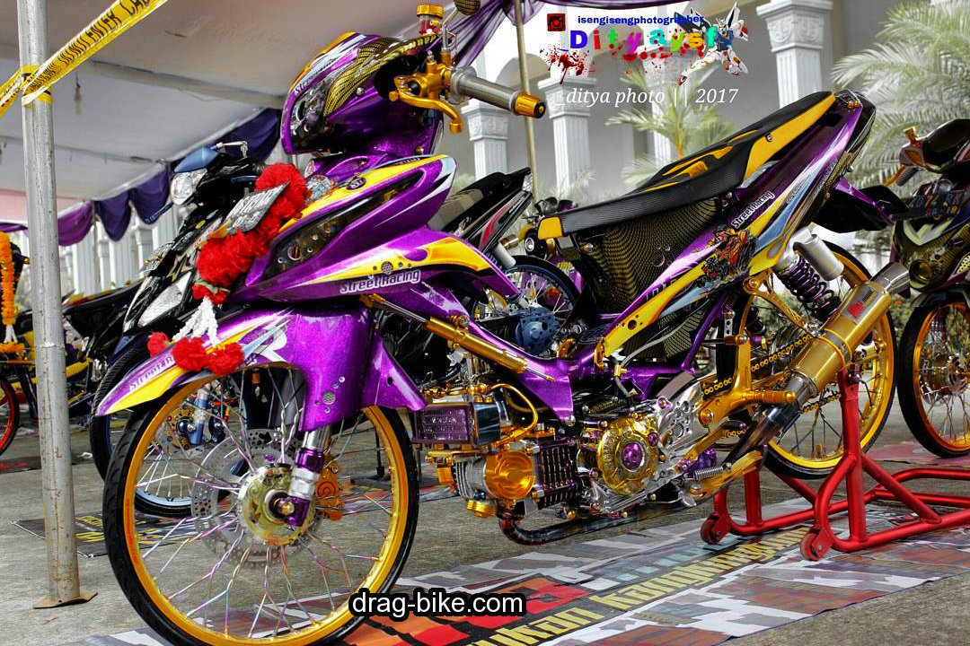 Modifikasi Motor Jupiter Z 1 Kontes