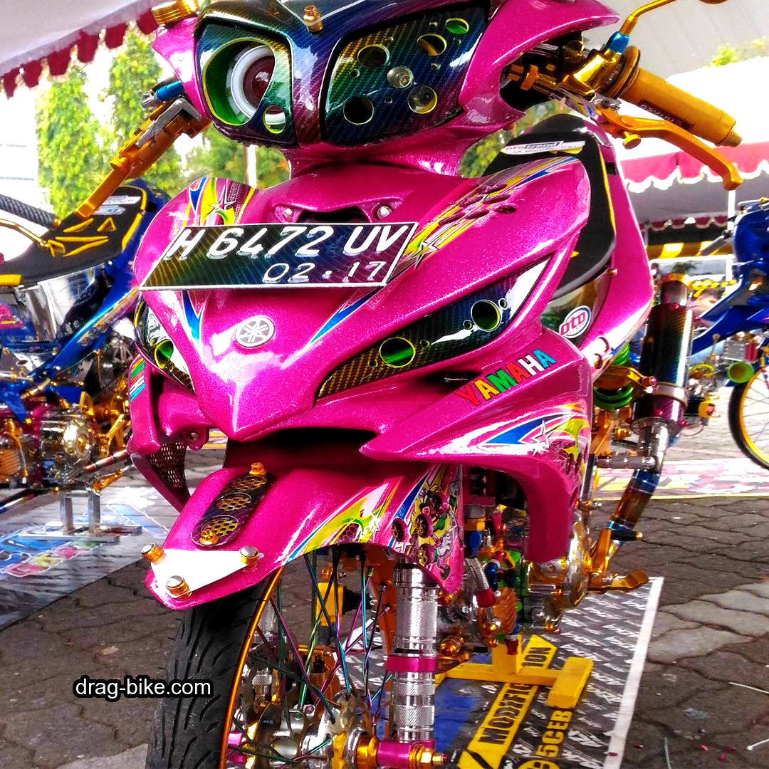 Modifikasi Motor Jupiter Z Body Jupiter MX