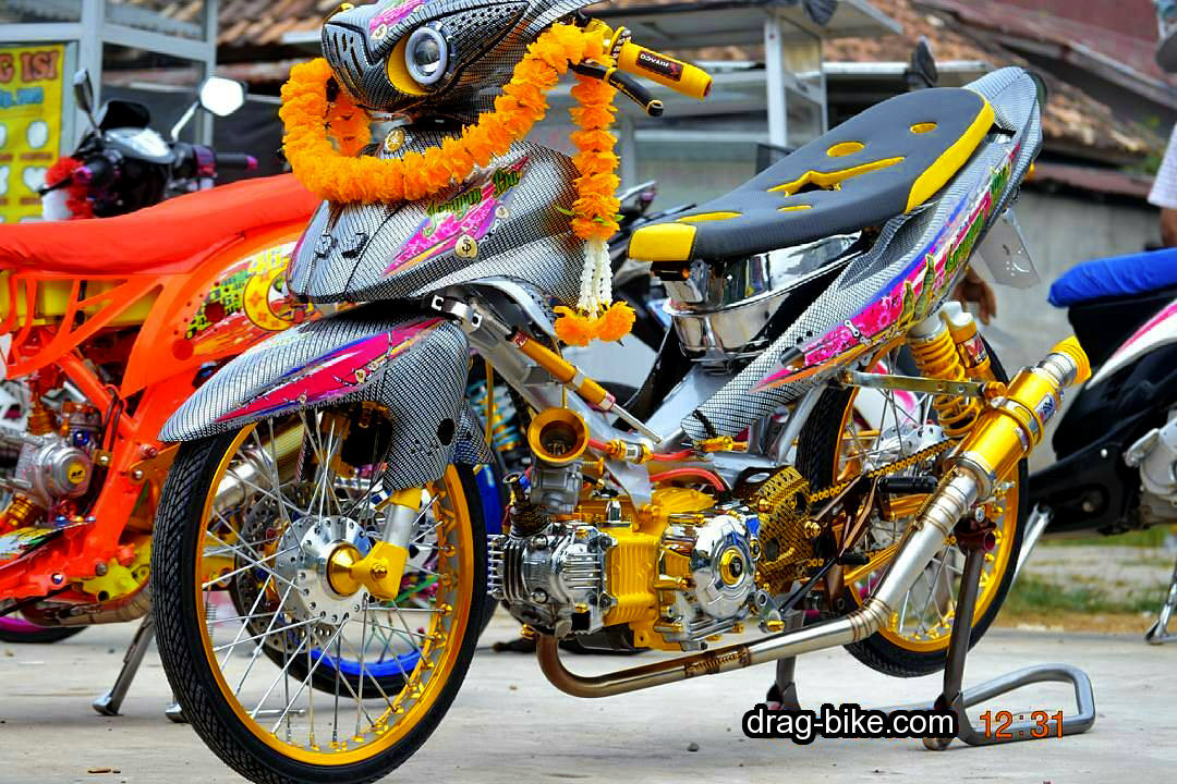 Modifikasi Motor Jupiter Z Racing Look