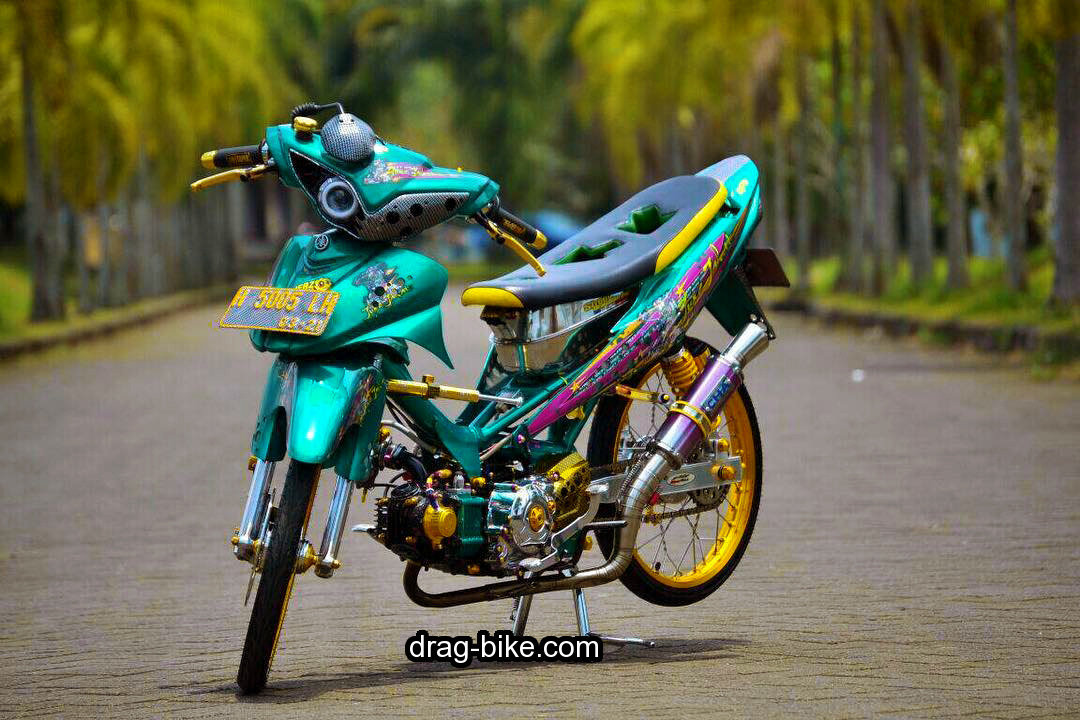 Modifikasi Motor Jupiter Z Street Racing